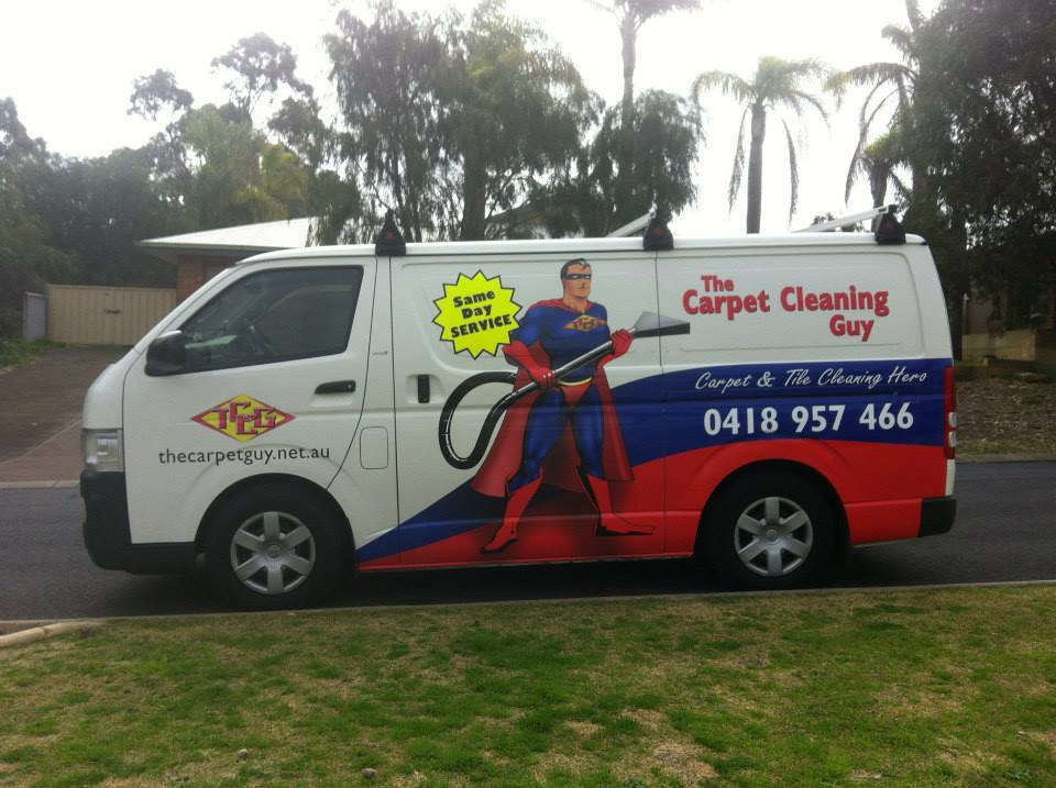The Carpet Guy Van